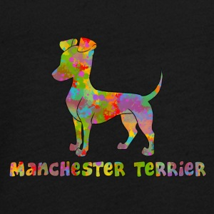 Manchester Terrier Multicolored - Teenagers' Premium Longsleeve Shirt
