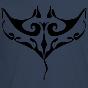 Manta Ray tatovering - Teenager premium T-shirt med lange ærmer