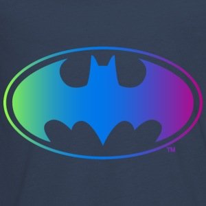 Batman Neon Logo Teenager Langarmshirt
