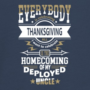 Statonierter Onkel Militär Thanksgiving Patriot - Teenager Premium Langarmshirt