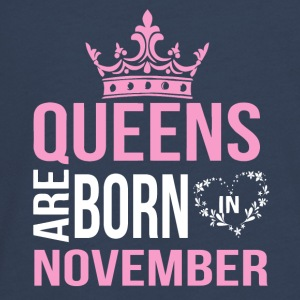 Queens are born in November - Teenagers' Premium Longsleeve Shirt