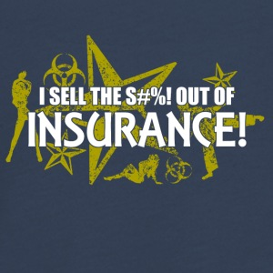 I sell the s out of insurance - Teenagers' Premium Longsleeve Shirt
