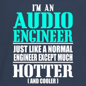 AUDIO ENGINEER - Teenagers' Premium Longsleeve Shirt