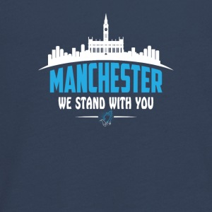 MANCHESTER WE STAND WITH YOU - Teenagers' Premium Longsleeve Shirt