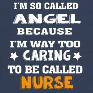 Angel Caring Nurse - Teenagers' Premium Longsleeve Shirt