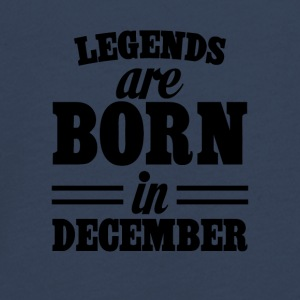 Legends zijn geboren in december - Teenager Premium shirt met lange mouwen