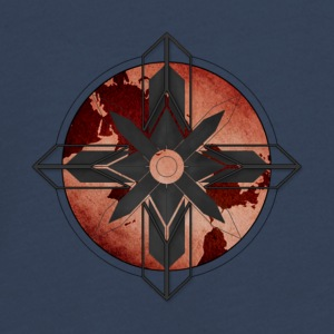 Map Compass - Red - Teenagers' Premium Longsleeve Shirt