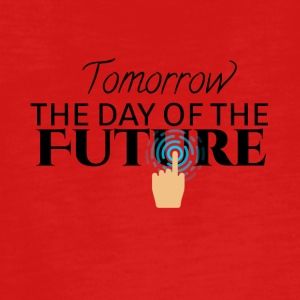 Tomorrow is the day of the future - Teenagers' Premium Longsleeve Shirt