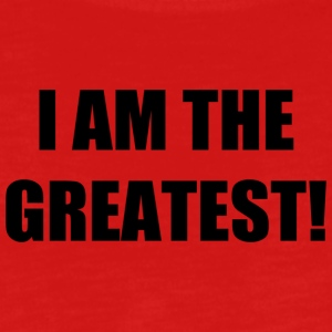 I AM THE GREATEST! - Teenager Premium Langarmshirt