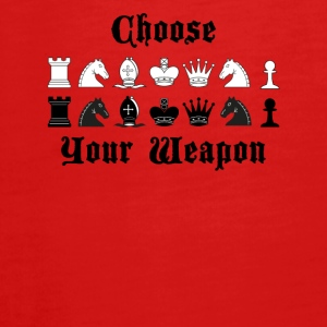 Chess Choose your weapon gift - Teenagers' Premium Longsleeve Shirt