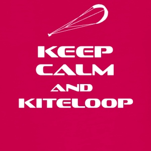 KITESURFING - KEEP CALM AND KITELOOP - Teenager Premium Langarmshirt
