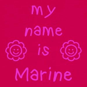 MARINE MY NAME IS - T-shirt manches longues Premium Ado