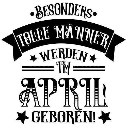 Manner Im April Geboren Geburtstag Spruch Manner Fussball Trikot