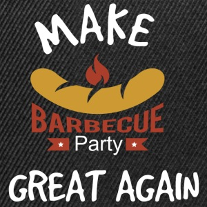 Gör Barbecue Great Again - Snapbackkeps