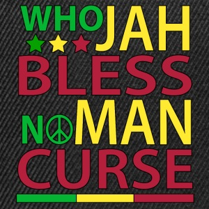 Who Jah Bless No Man Curse - Snapback Cap