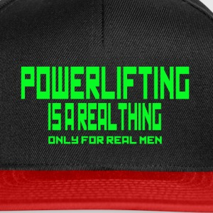 REAL THING Green - Snapback Cap