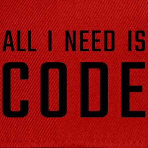 All I need is CODE - Snapback Cap