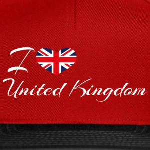 Love United Kingdom - Snapback Cap