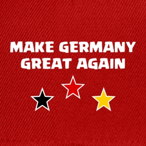 Make Germany Great Again - Snapback Cap