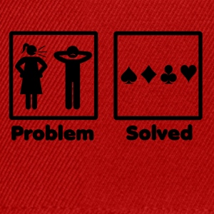 problem solved poker pokern - Snapback Cap