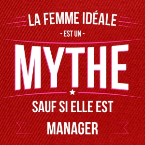 Manager femme ideale Manager - Casquette snapback