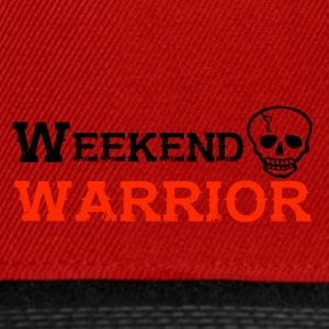 Shirt Weekend Warrior Weekend Party - Casquette snapback