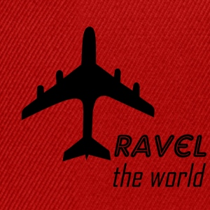 travel the world - Snapback Cap