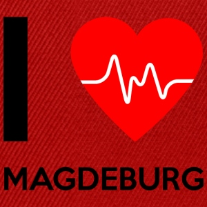 I Love Magdeburg - Ich liebe Magdeburg - Snapback Cap