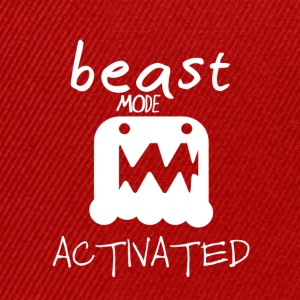 Monster mode activated - beast mode activated - Snapback Cap