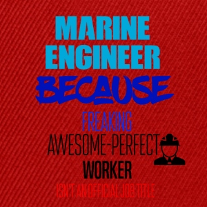 Marine engineer - Snapback Cap