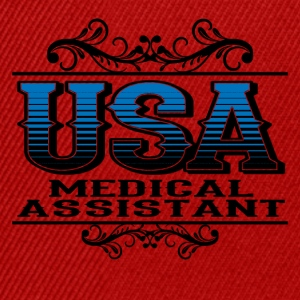 USA medical Assistant - Snapback Cap