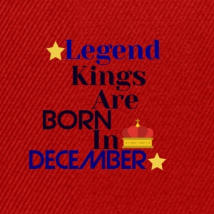 Legend Kings er født i desember - Snapback-caps