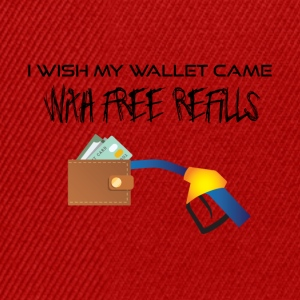 Wallet with free reffills - Snapback Cap