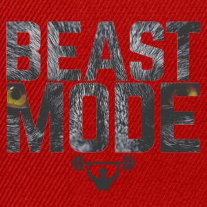 Bodybuilding Motviation beastmode - Snapback Cap