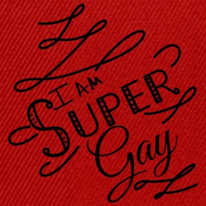 I am super gay - Snapback Cap