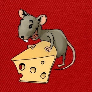 Fiese mouse rodent mouse vermin rodent cheese - Snapback Cap