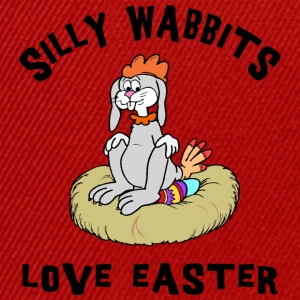 Easter Silly Wabbits Love Easter - Snapback Cap