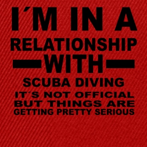 gift gift birthday relationship SCUBA DIVING - Snapback Cap