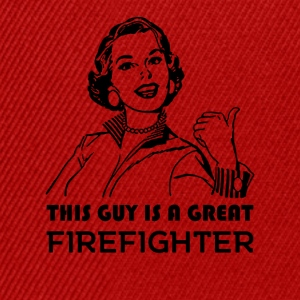 Great Firefighter. Gifts for firefighters. - Snapback Cap