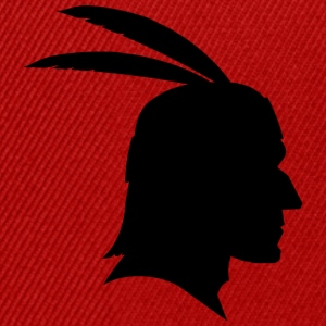 Indians shadow figure Apache / Sioux / Maya - Snapback Cap