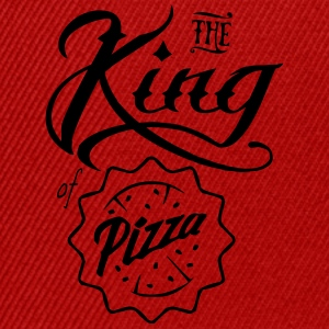 The king of pizza - Snapback Cap