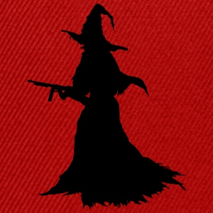 Witch with Assault Rifle / AK for Halloween - Snapback Cap