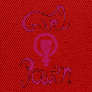 girl power1 - Casquette snapback