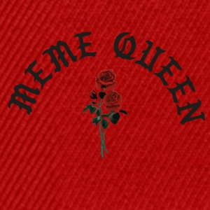 Meme queen rose - Snapback Cap
