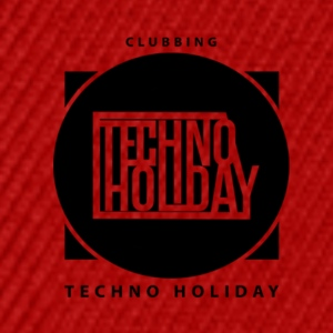 logo_techno_holiday_2017_negro1 - Snapback-caps