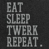 eat sleep twerk repeat - Snapback Cap