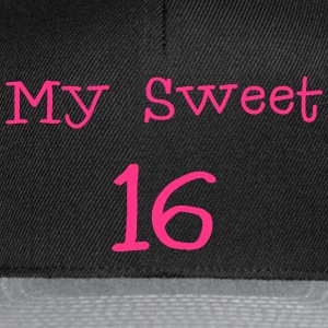 My Sweet 16 / 16th Birthday / Party 1c - Snapback Cap