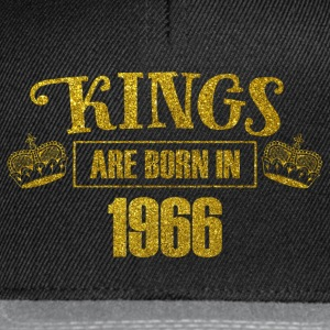 Kings are born in 1966 - Birthday Koenigsgold - Snapback Cap