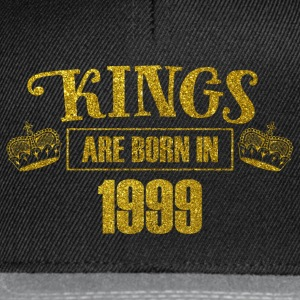 Kings are born in 1999 - Birthday Koenigsgold - Snapback Cap