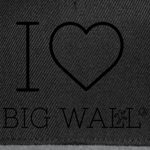 I love Big Wall - Snapback Cap